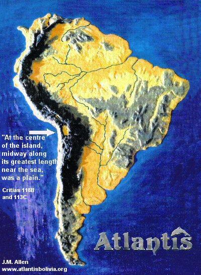 Bình nguyên Altiplano ở Bolivia nằm trên dãy núi Andes ở Nam Mỹ (ảnh: atlantisbolivia.org)