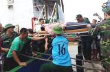 Nghệ An: Sắp trục vớt tàu VTB 26 bị chìm tại đảo Hòn Ngư