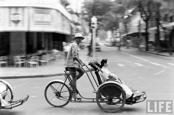 Xích Lô Sài Gòn xưa (Ảnh)