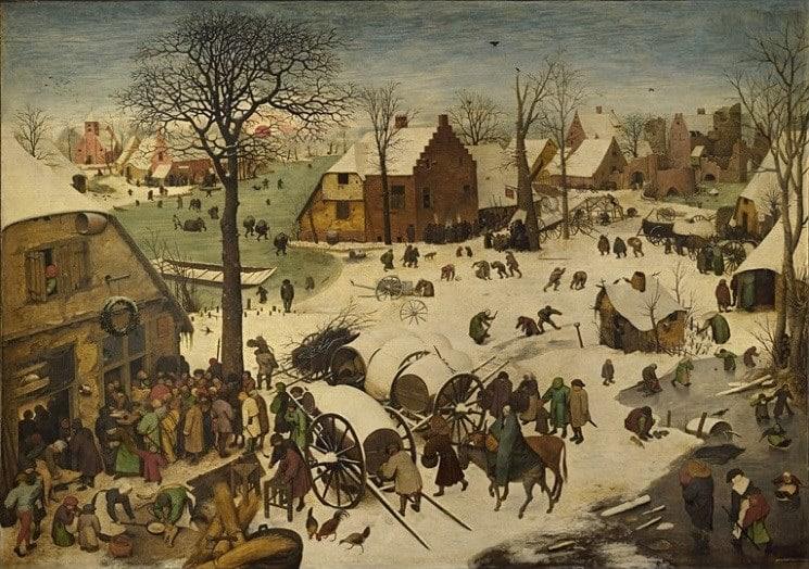 Bức tranh bậc thầy về cuộc sống thường nhật thế kỷ 16 của danh họa Phục Hưng Pieter Bruegel