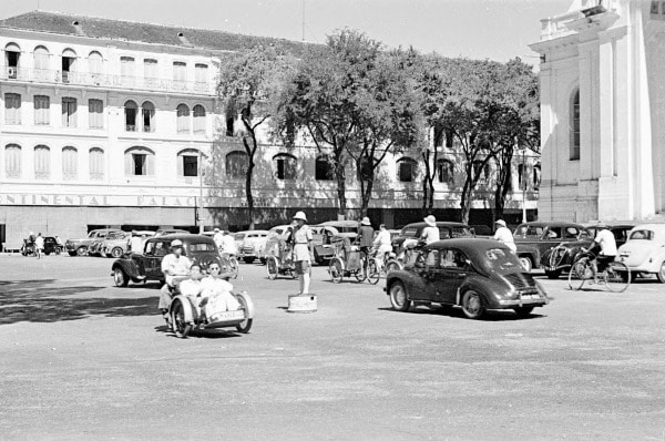 Sài Gòn những năm 50 qua ống kính bạn bè quốc tế (Ảnh)