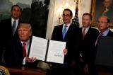 Tổng thống Trump ký lệnh điều tra hoạt động thương mại Trung Quốc