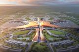 Toàn cảnh công trường xây dựng nhà ga sân bay quốc tế lớn nhất thế giới Beijing New Airport