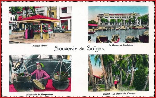 Ảnh màu bưu thiếp về Sài Gòn trước năm 75 (Ảnh)