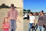 Người cha tái hiện hình ảnh 13 năm trước đưa con gái đi học tràn ngập hạnh phúc