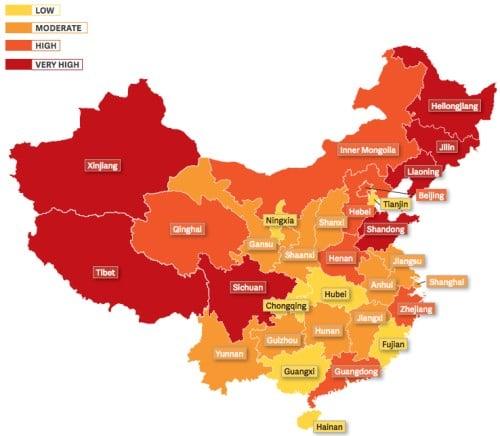 Đàn áp tín ngưỡng Trung Quốc