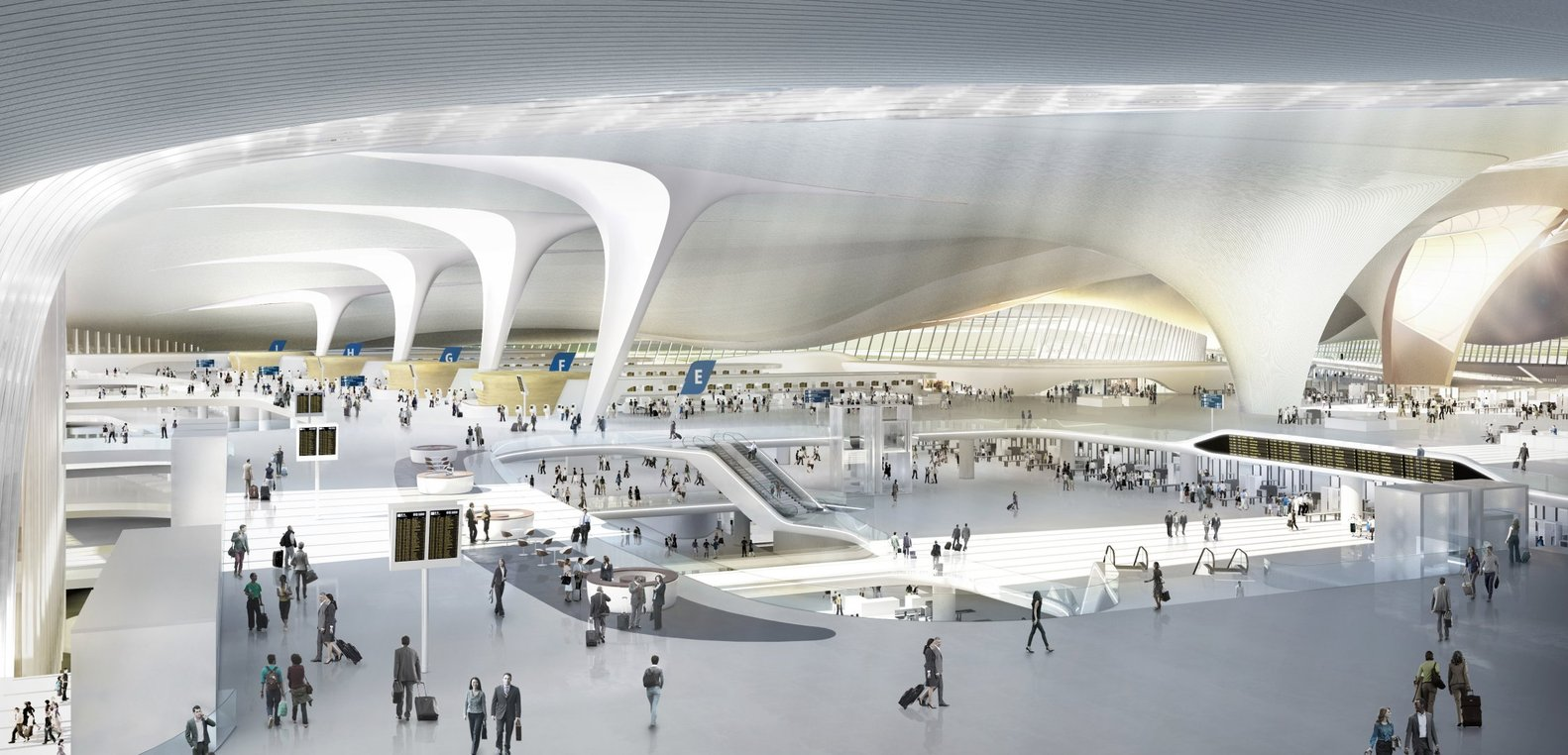 công trường sân bay lớn nhất thế giới