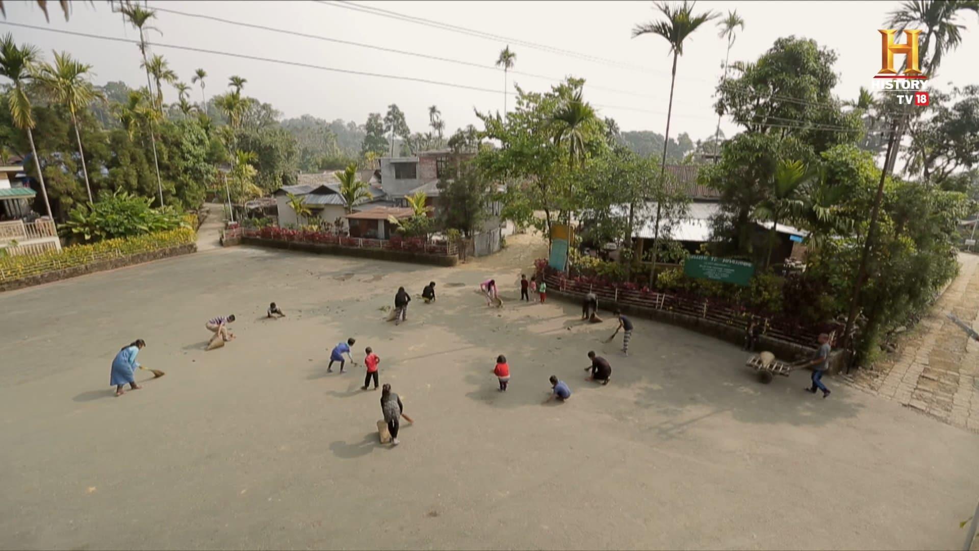 Ngôi làng sạch nhất Ấn Độ - Mawlynnong , giữ gìn vệ sinh