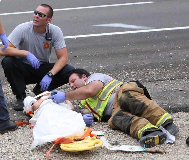 nhân viên cứu hộ