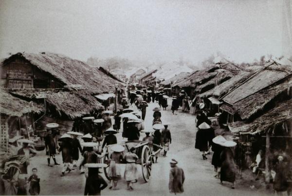 Phố phường Hà Nội xưa (Ảnh)