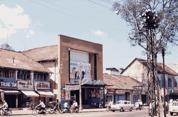 Những bức ảnh màu về Sài Gòn