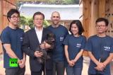 """Chú chó được giải cứu khỏi lò mổ trở thành """"đệ nhất cún cưng"""" của tân Tổng thống Hàn Quốc"""