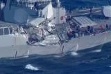 Tàu chiến Mỹ va chạm trên biển Đông, 10 thủy thủ mất tích