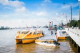 Vận hành thử nghiệm tàu buýt đường thủy nội địa đầu tiên tại TP.HCM