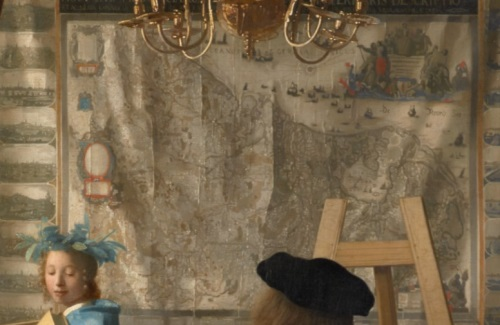 """Tìm hiểu nghệ thuật Phục Hưng: Bức """"Nghệ thuật hội họa"""" và nàng thơ lịch sử"""
