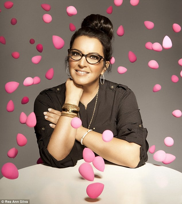 Rea Ann Silva conceptualised the Beautyblender - the world