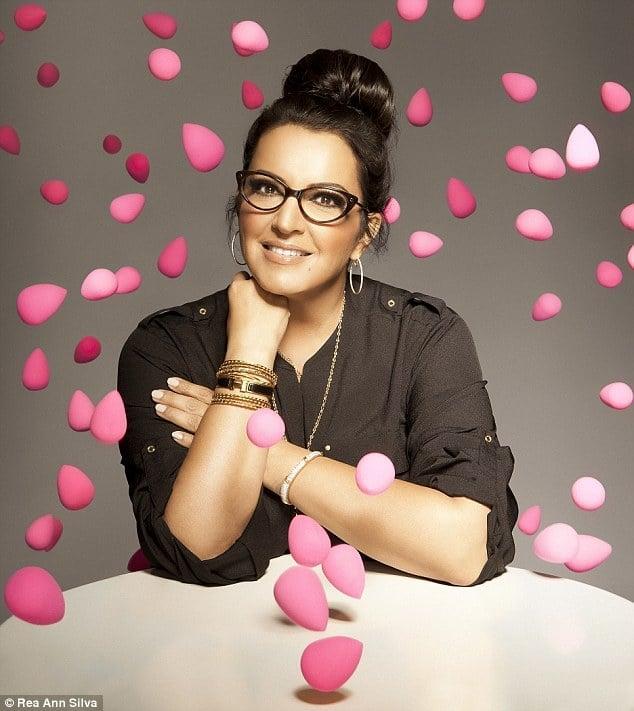 Rea Ann Silva conceptualised the Beautyblender - the world