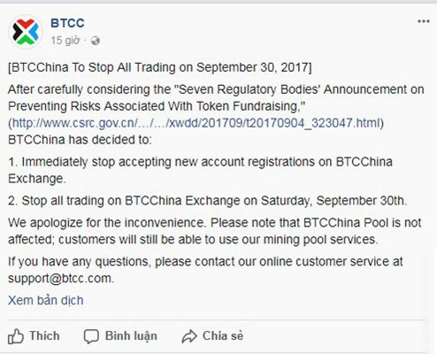 BTCC ngung mo tai khoan giao dich bitcoin