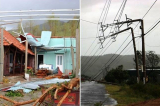 6 người chết, 215 người bị thương trong cơn bão số 10