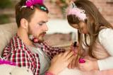 Chùm ảnh vui nhộn thể hiện tình yêu đặc biệt giữa bố và con gái