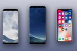 So sánh iPhone X và Samsung Galaxy S8/S8+