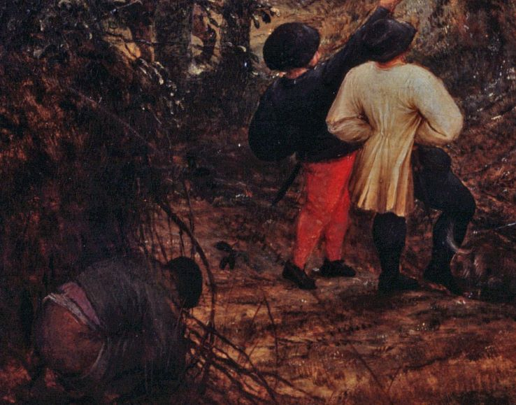 """Tìm hiểu nghệ thuật Phục Hưng: Sự mỉa mai trong bức """"Chim ác là trên giá treo cổ"""""""