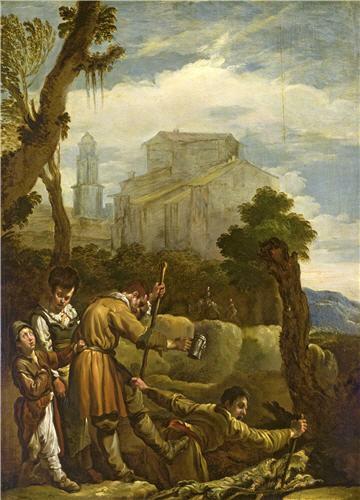 """Sự châm biếm trong bức """"Thằng mù lại dắt thằng mù"""" của Pieter Bruegel"""