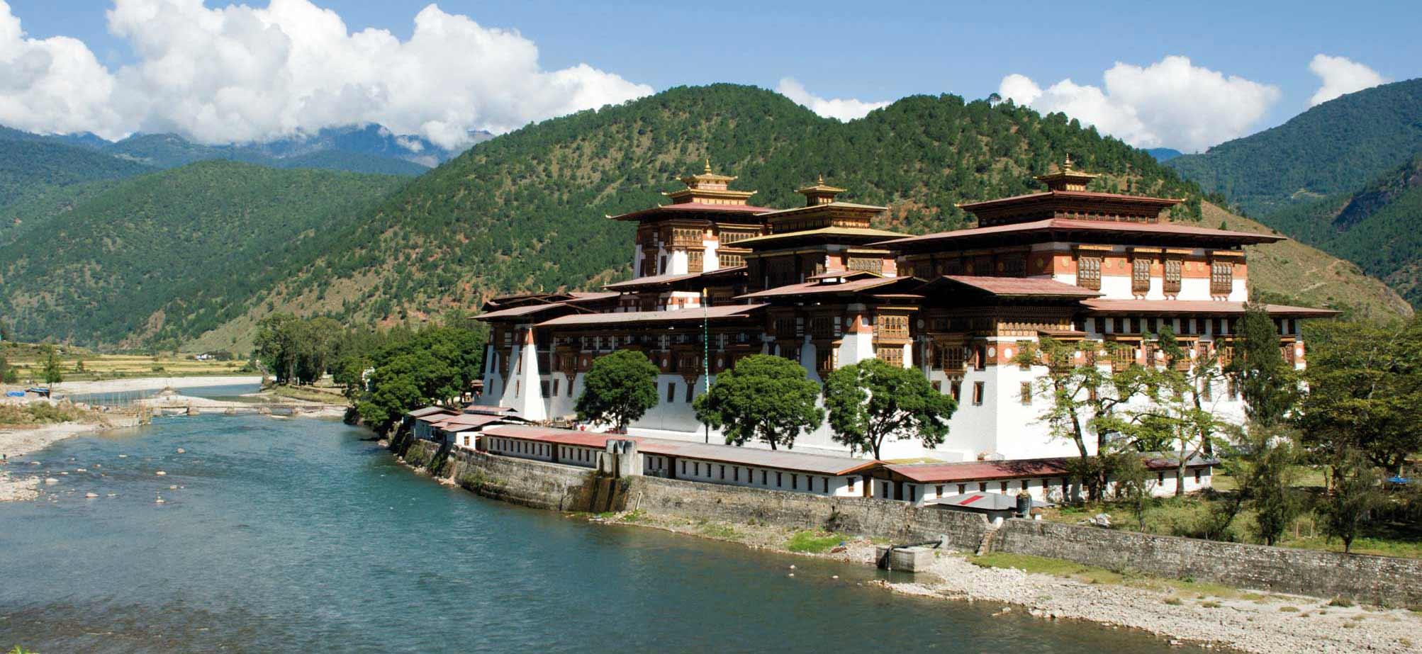 Bhutan Punakh monastery