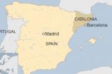 ban do Tay Ban Nha