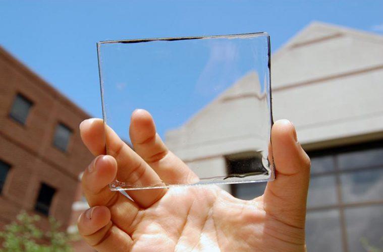 công nghệ pin mặt trời trong suốt