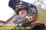 Câu chuyện về nghị lực: VĐV ngồi xe lăn lập kỷ lục Guinness (video)