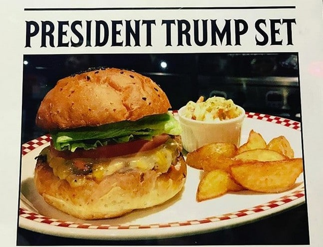 burger Donald Trump