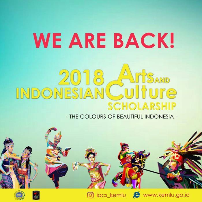 Học bổng Nghệ thuật & Văn hóa Indonesia 2018