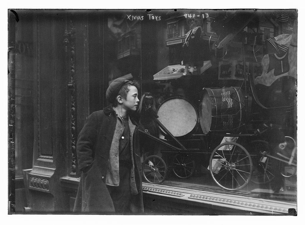 Mua sắm ở New York 100 năm trước