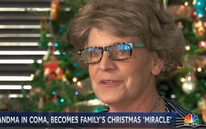 Phép màu Giáng Sinh xảy ra với cụ bà tưởng chừng đã chết