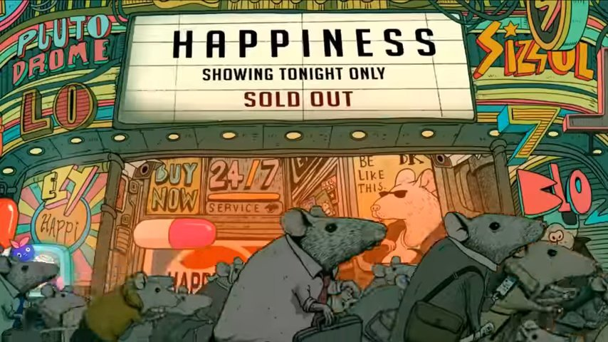 Phim ngắn không lời đáng suy ngẫm: Đi tìm hạnh phúc trong xã hội hiện đại
