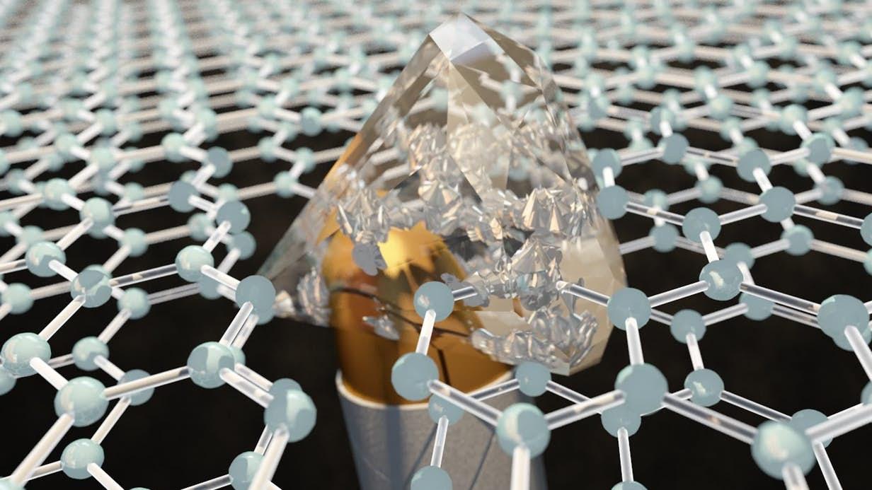 Áo giáp bằng Graphene có thể trở nên cứng hơn kim cương để chống đạn