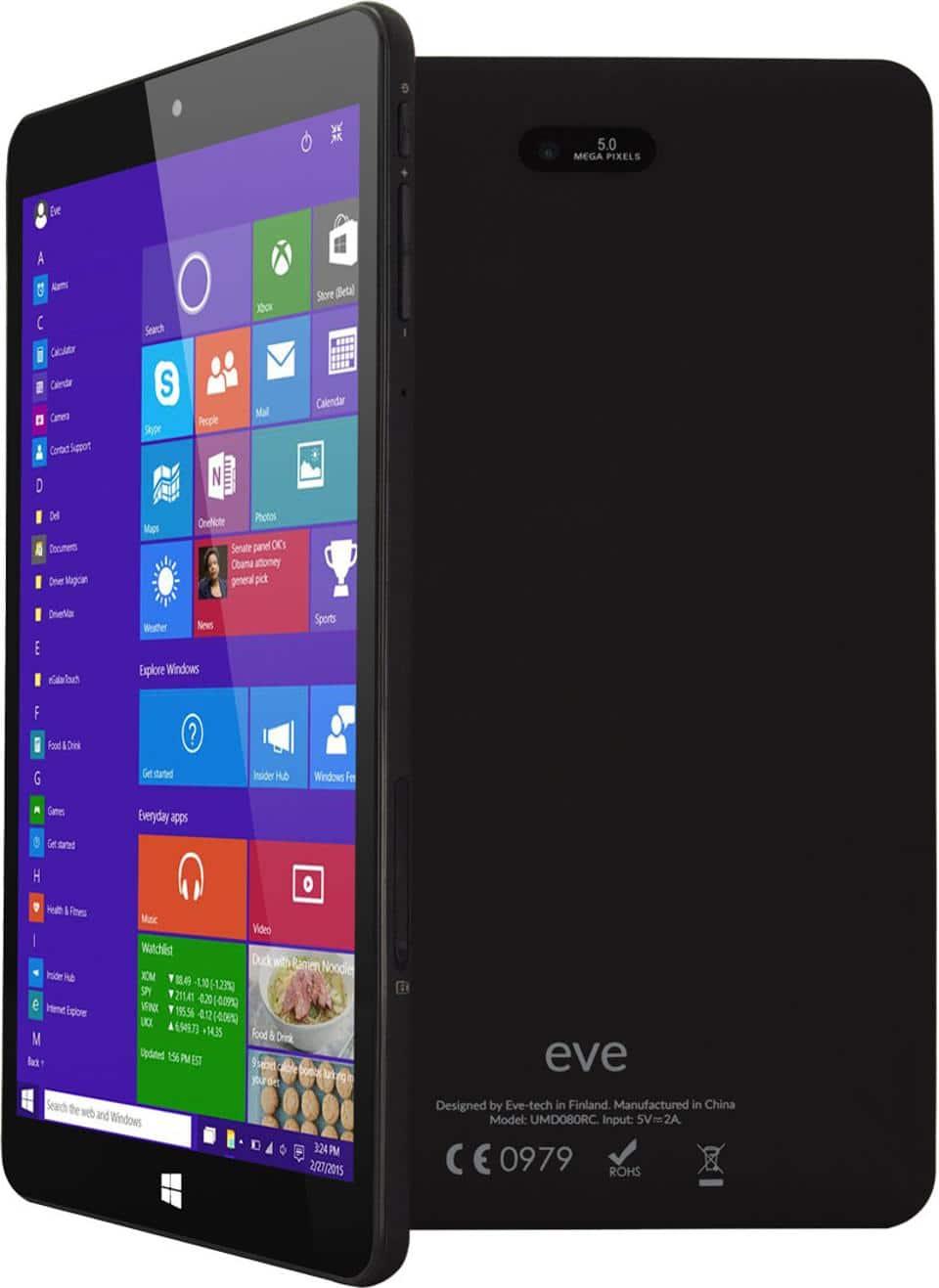Karatsevidis, máy tính Eve V