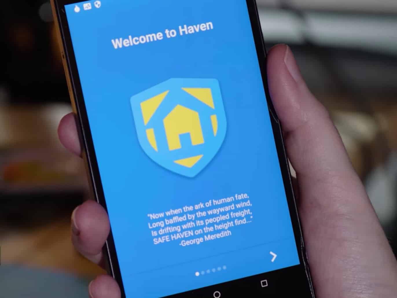 Edward Snowden ra app Haven biến điện thoại Android thành hệ thống giám sát