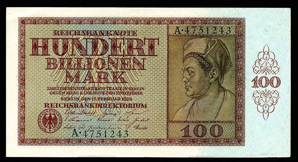 siêu lạm phát năm 1923 ở Đức