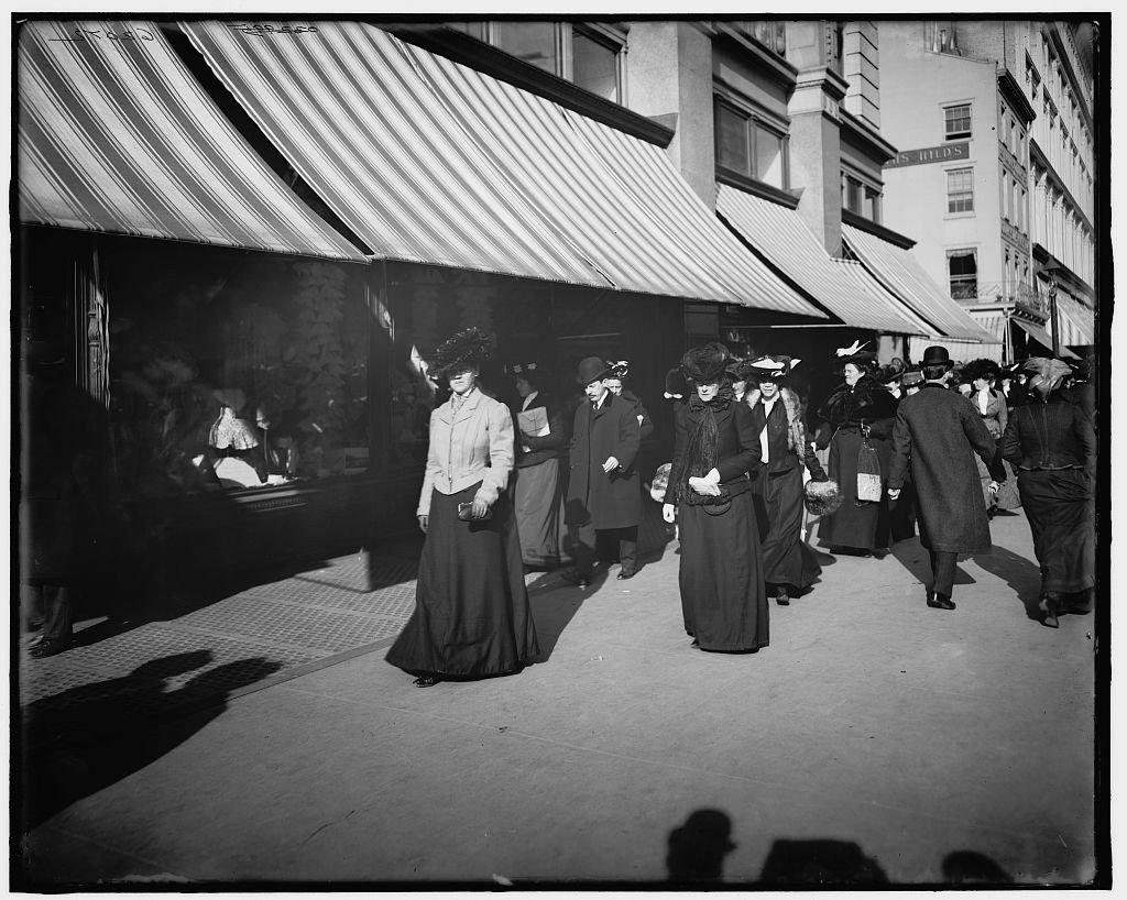 Đại lộ 6, New York, 17 bức ảnh về không khí mua sắm Giáng sinh của người New York 100 năm trước