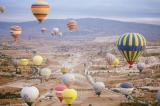 bay khinh khí cầu ở Cappadocia