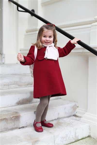 Công chúa Charlotte, công chúa Anh, Hoàng gia Anh, mầm non