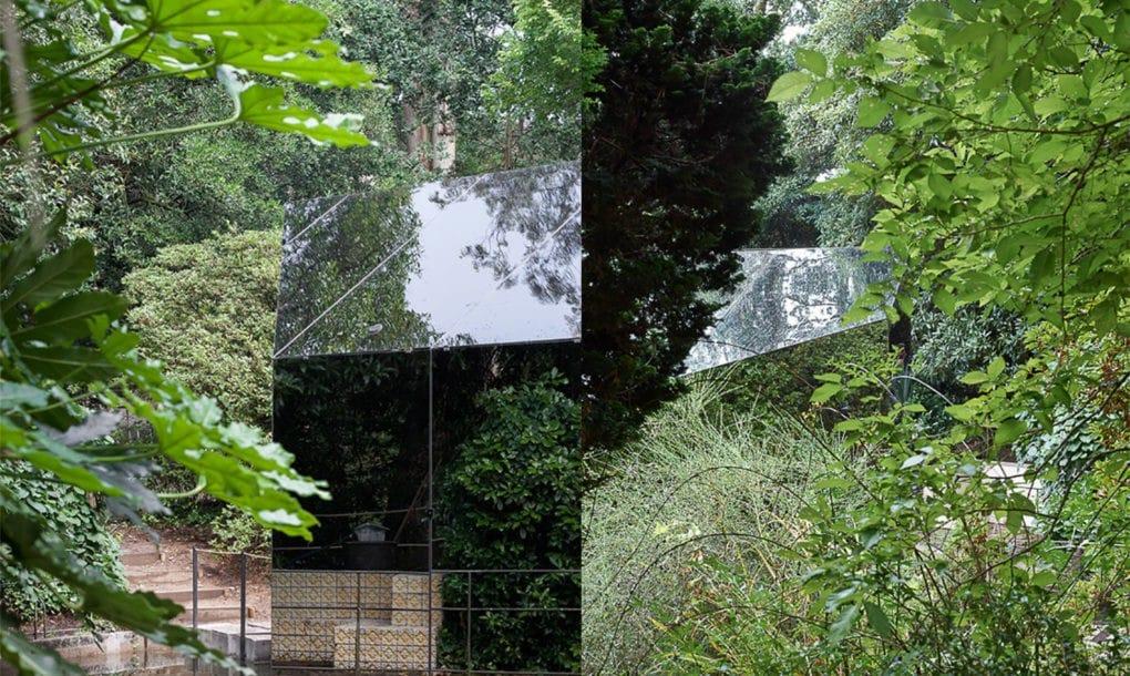 công trình kiến trúc, phòng trưng bày, phòng trưng bày tàng hình