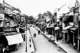 Tranh ảnh đen trắng về Hà Nội