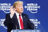 Ong Trump tai WEF