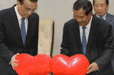 Hun Sen va Ly Khac Cuong