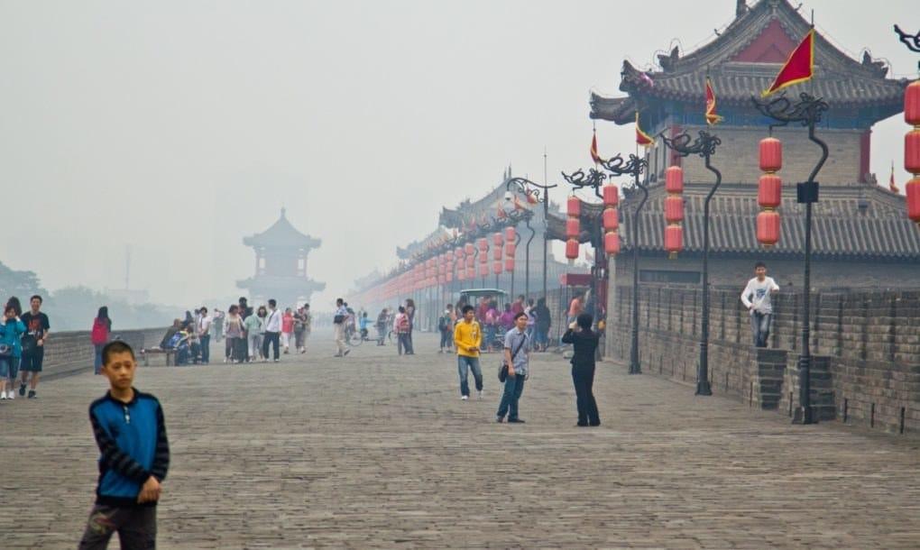 ô nhiễm không khí, ông nhiễm sương khói, ô nhiễm không khí ở Trung Quốc,