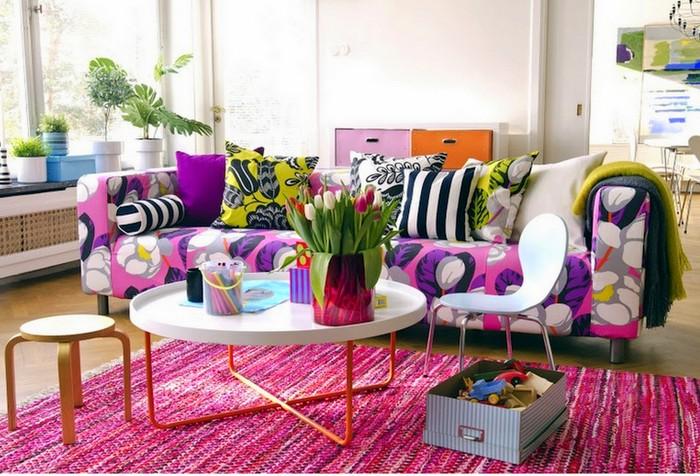 Mang Xuân vào nhà với thiết kế hoa cho nội thất