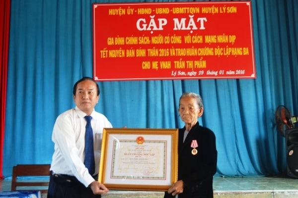 Nguyễn Thanh, Quảng Ngãi
